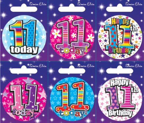 Badge 6 Card Happy Birthday 11
